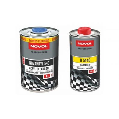 Novol Бесцветный 540 Express Лак (2+1) 1л + отвердитель 0,5л