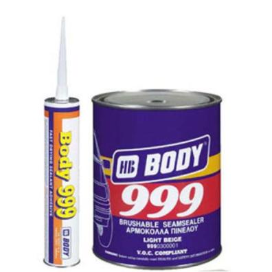 BODY 999 Герметик для кузова (цвет желтый) вес 1 кг