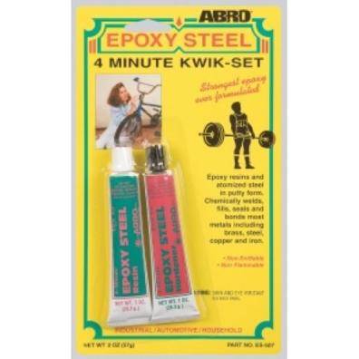 Abro Эпоксидный клей 4мин 57гр (1*12)