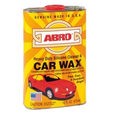 Abro Автовоск силиконовый, 473мл
