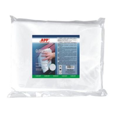 APP салфетка полировочная в упаковке 20 шт. размер 40*30 см.