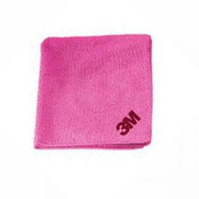 3M 50489 Салфетка полировальная многоразовая розовая 36см*32см