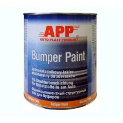APP BUMPER PAINT Краска для бампера структурная цвет серый