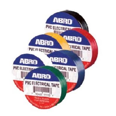 Abro Изоляционная лента 19мм x 9,1м (ET-912), цвет черная