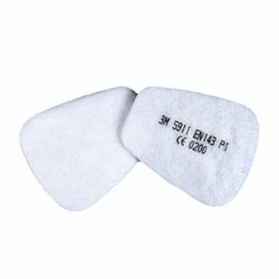 3M 5911 Фильтр от пыли (ушки) (цена за шт.)