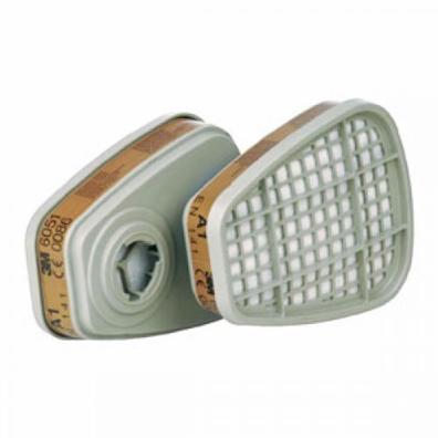 3M 6051 A1 Фильтр от органических паров (уголь) (цена за шт.)