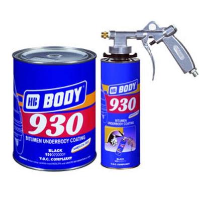 BODY 930 Мастика (черная), вес 5кг