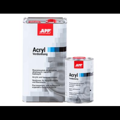 APP Растворитель к акриловым и базовым продуктам, 1л