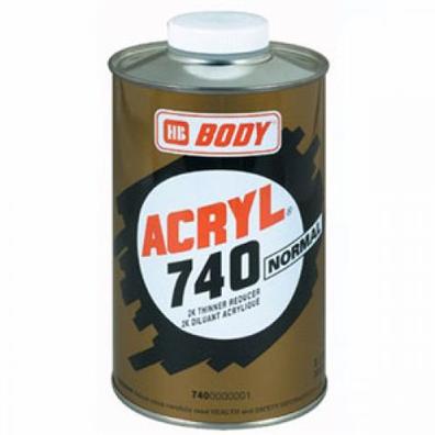 BODY 740 NORMAL Растворитель акриловый стандартный, объем 1л