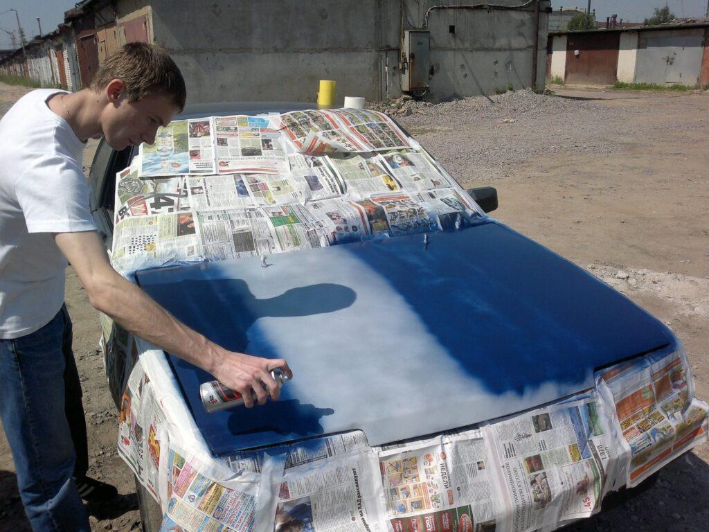 Как самому покрасить авто?